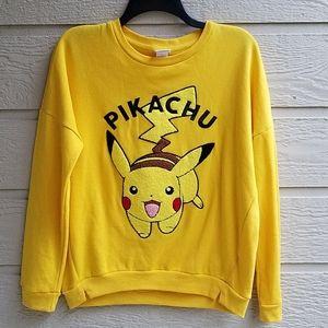 Pokemon Pikachu sweatshirt size Medium